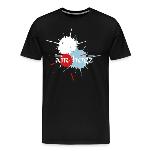 Air Hogz Splatter Shirt - Men's Premium T-Shirt