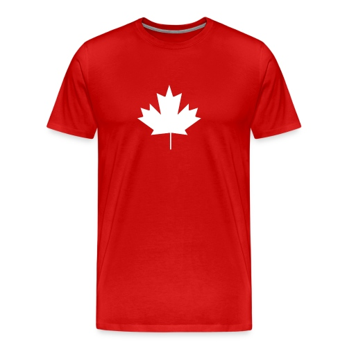 Canadian Leaf - Men's Premium T-Shirt