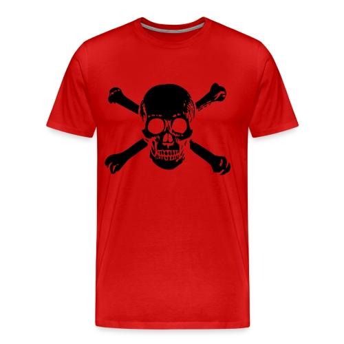 Skull and Bones - Men's Premium T-Shirt