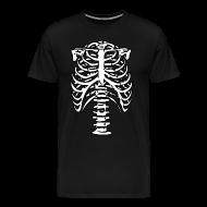 T-Shirts ~ Men's Premium T-Shirt ~ Skeleton Halloween Costume T-Shirt