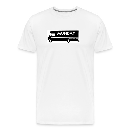 Bread Truck Monday: Ode to Mark Driscoll's Hardest Day of the Week - Men's Premium T-Shirt