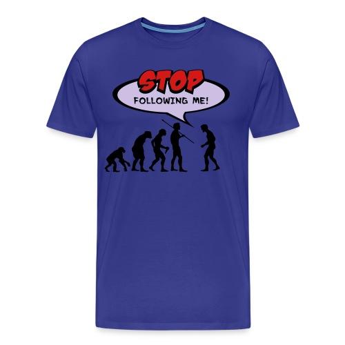 Evolution Stop - Men's Premium T-Shirt
