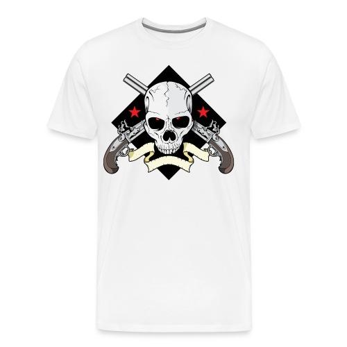 golden guitrar - Men's Premium T-Shirt