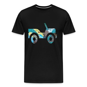 hey ma look no brakes - Men's Premium T-Shirt