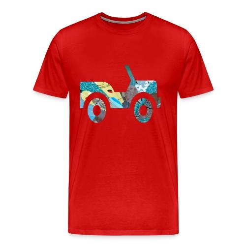 hey ma look no brakes - Men's Premium T-Shirt