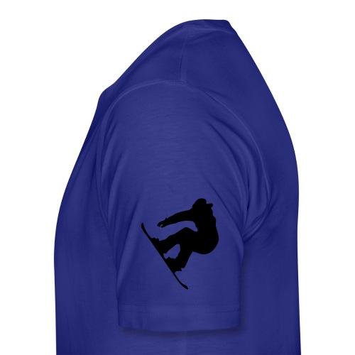 Active Snowboarder - Men's Premium T-Shirt