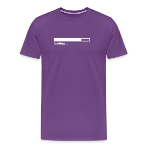 Loading Bar (on Dark Choice) - Men's Premium T-Shirt