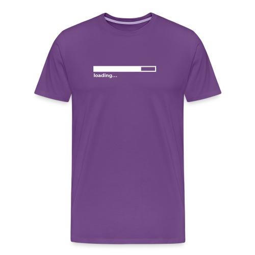 Loading Bar (on Dark Choice) - Men's Premium T-Shirt