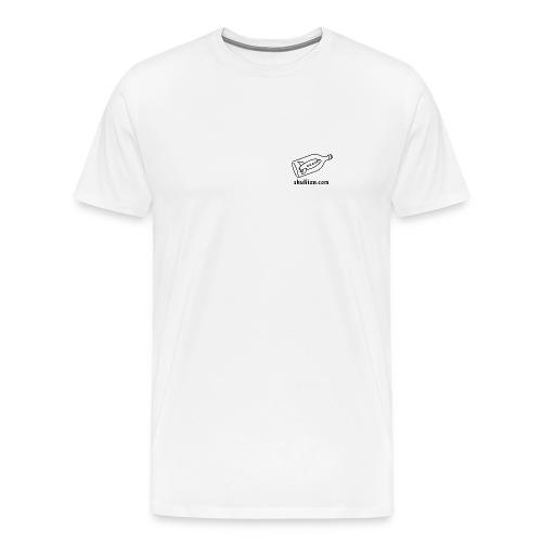 SP Logo Tee (white) - Men's Premium T-Shirt