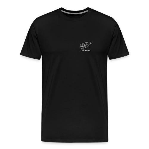 SP Logo Tee (black) - Men's Premium T-Shirt