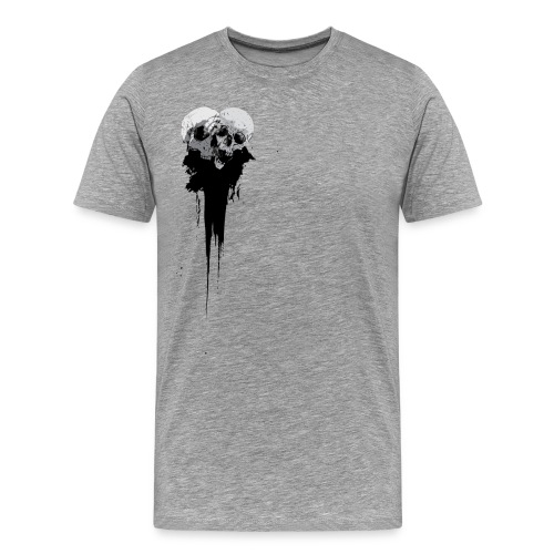 Skull Splatter - Men's Premium T-Shirt