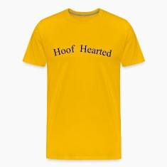 Gold Hoof Hearted T-Shirts