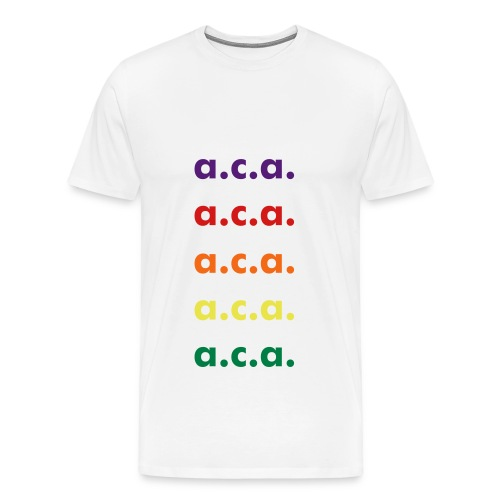 a.c.a. rainbow - Men's Premium T-Shirt