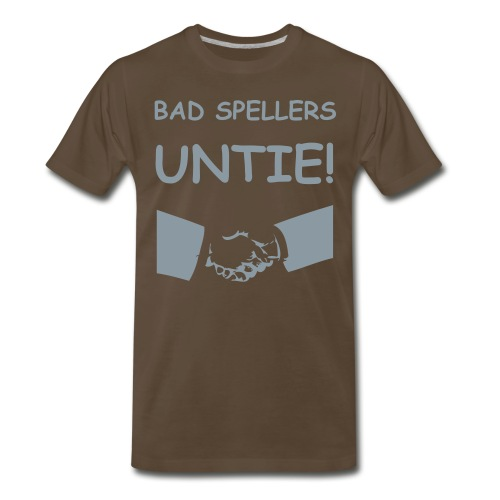 Bad Spellers - Men's Premium T-Shirt