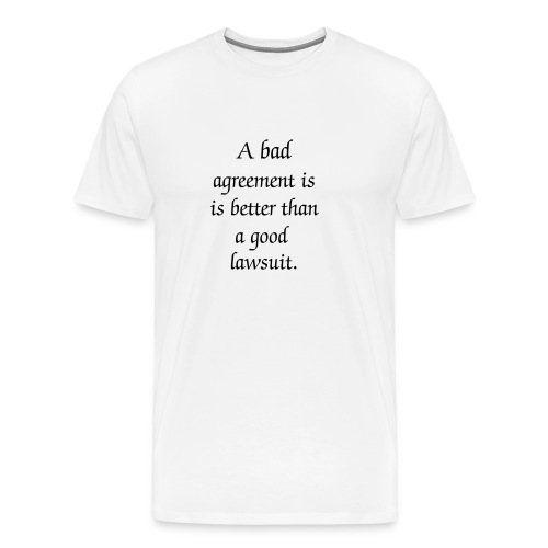 Italian Proverb No. 1 - Men's Premium T-Shirt