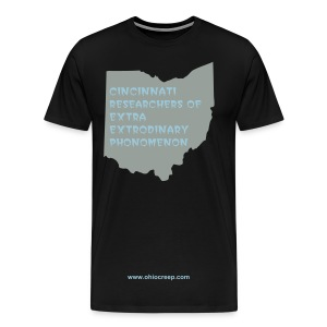 cincinnati researchers of extra extrodinary phonomenon - Men's Premium T-Shirt
