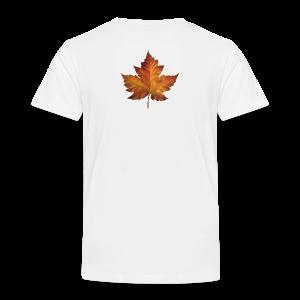 Canada Souvenir Toddler T-shirt Classic Canada Maple Leaf Shirt - Toddler Premium T-Shirt