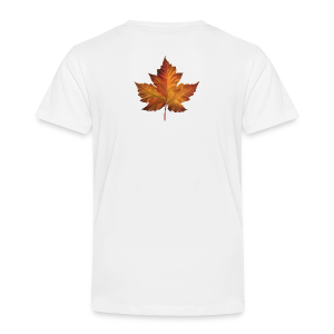 Canada Souvenir Toddler T-shirt Classic Canada Maple Leaf Shirt - Toddler Premium T-Shirt