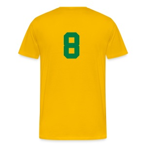 GHANA,PREMPEH COLLEGE HEAVY, TEE SHIRT. BACK NUMBERED - Men's Premium T-Shirt