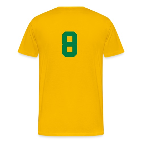 GHANA,PREMPEH COLLEGE HEAVY, TEE SHIRT. BACK NUMBERED - Men's Premium T-Shirt