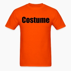 Orange Costume  T-Shirts