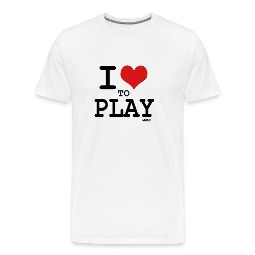 play tshirt - Men's Premium T-Shirt