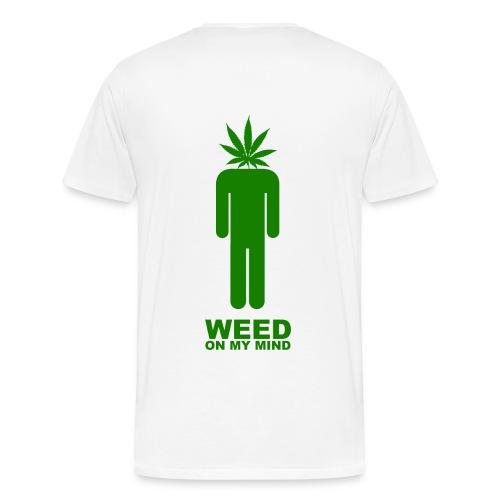 weed man - Men's Premium T-Shirt