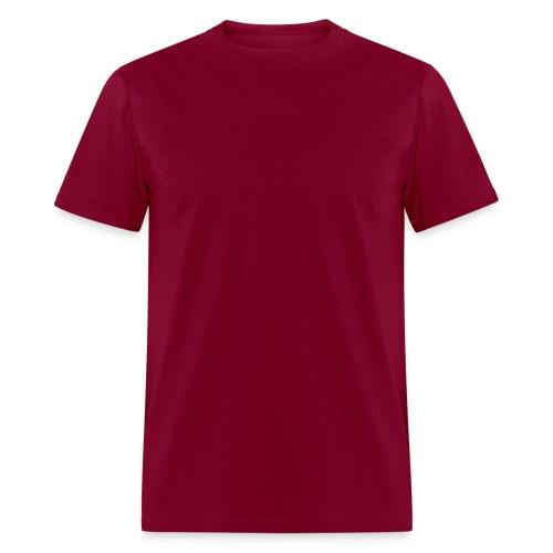Maroon Plain - Men's T-Shirt