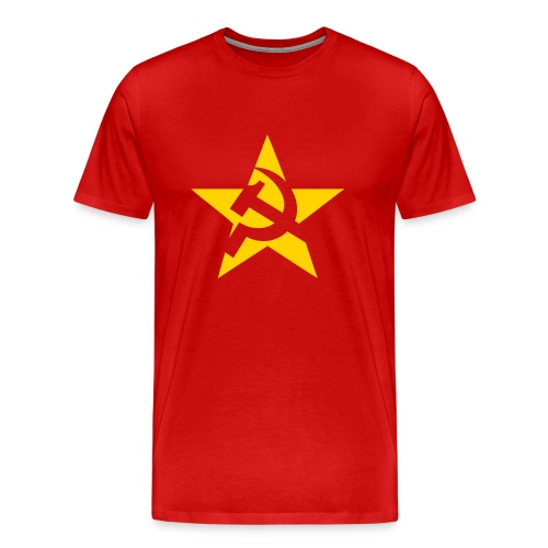 Soviet Star 3/4XL Men's Tee - Men's Premium T-Shirt