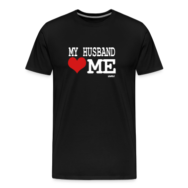 my husband loves me by wam T-shirts (manches courtes)
