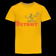 Kids' Shirts ~ Kids' Premium T-Shirt ~ Spirit of Detroit Children's T-Shirt