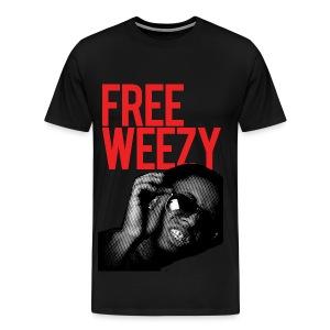 FREE WEEZY! - Men's Premium T-Shirt
