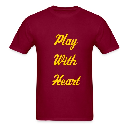 Play with Heart - Men's T-Shirt