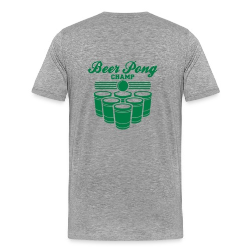 Beer Pong Champ Tee - Men's Premium T-Shirt