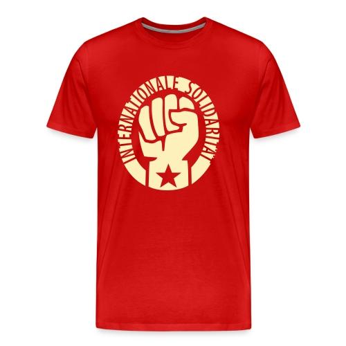 Internationale Solidarität 3/4XL Men's Socialist Tee - Men's Premium T-Shirt