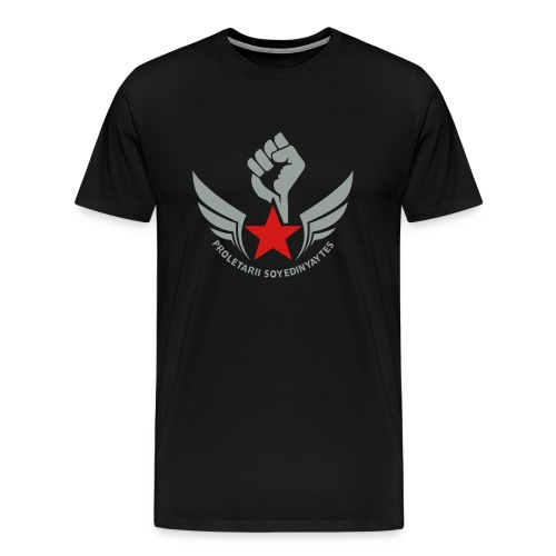 Proletarii Fist 3/4XL Men's Tee - Men's Premium T-Shirt