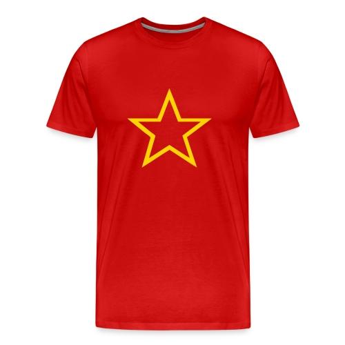 Soviet Red Army Star 3/4XL Men's Tee - Men's Premium T-Shirt