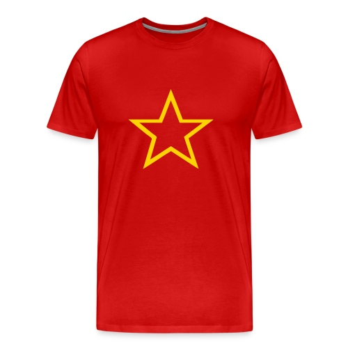 Soviet Red Army Star 3/4XL Men's Tee - Men's Premium T-Shirt