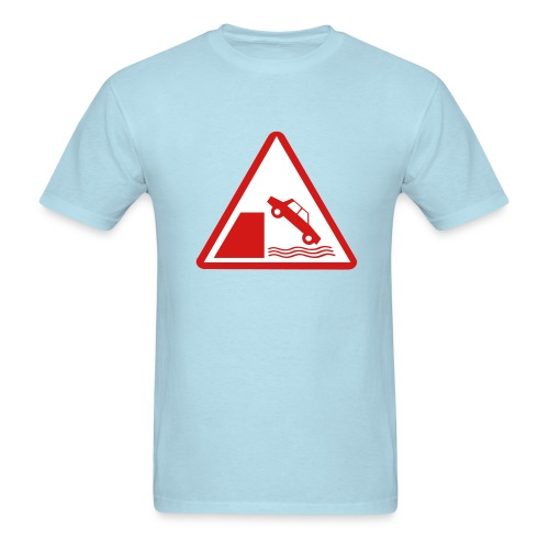 Sage USofAnderson Road Sign T-Shirts - Men's T-Shirt