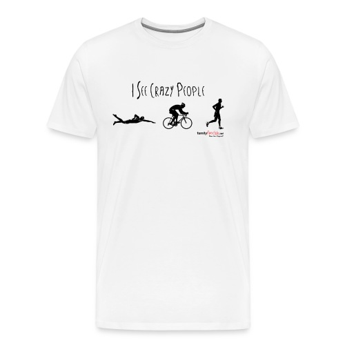 I See Crazy People - Men - Men's Premium T-Shirt