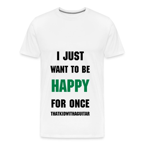 happy green - Men's Premium T-Shirt