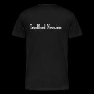 T-Shirts ~ Men's Premium T-Shirt ~ God Has Horns - Mens