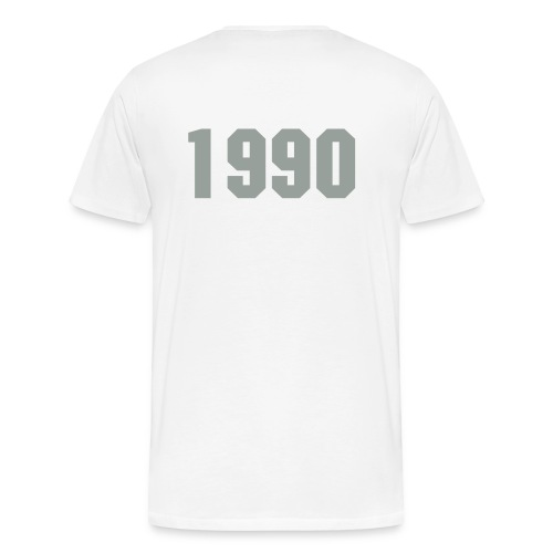 Born in 1990 - Men's Premium T-Shirt