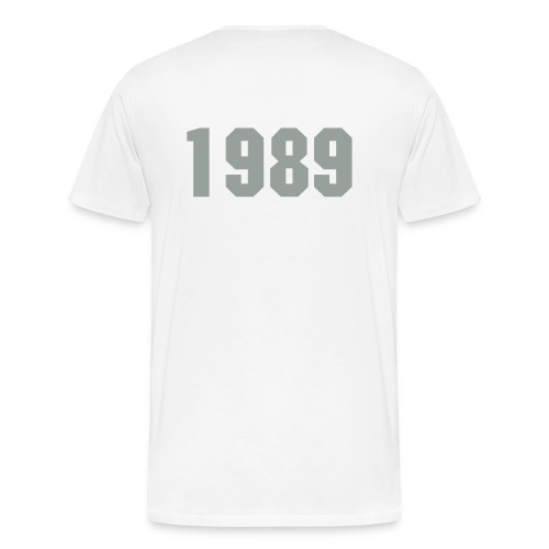 Born in 1989 - Men's Premium T-Shirt