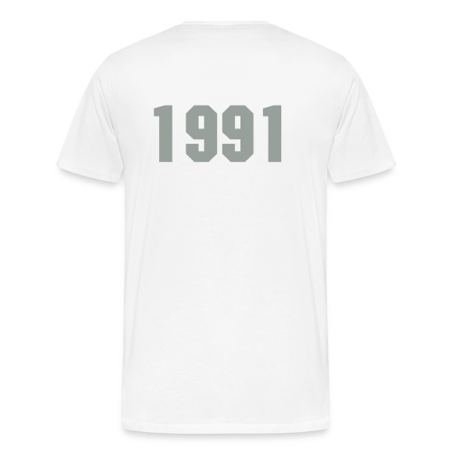 Born in 1991 - Men's Premium T-Shirt