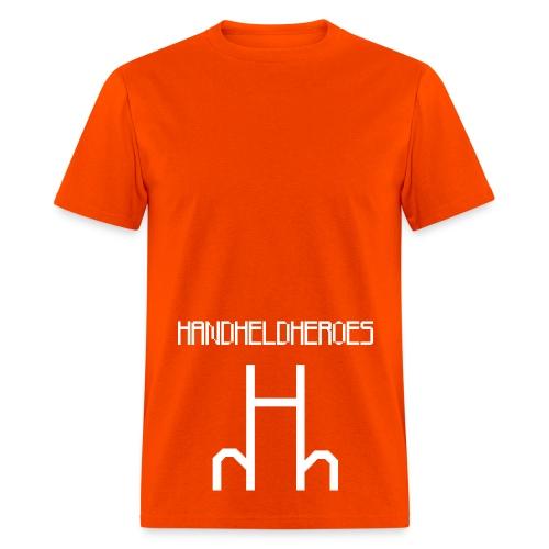 Hard as Fuck White Text Men's Heavyweight T - Men's T-Shirt