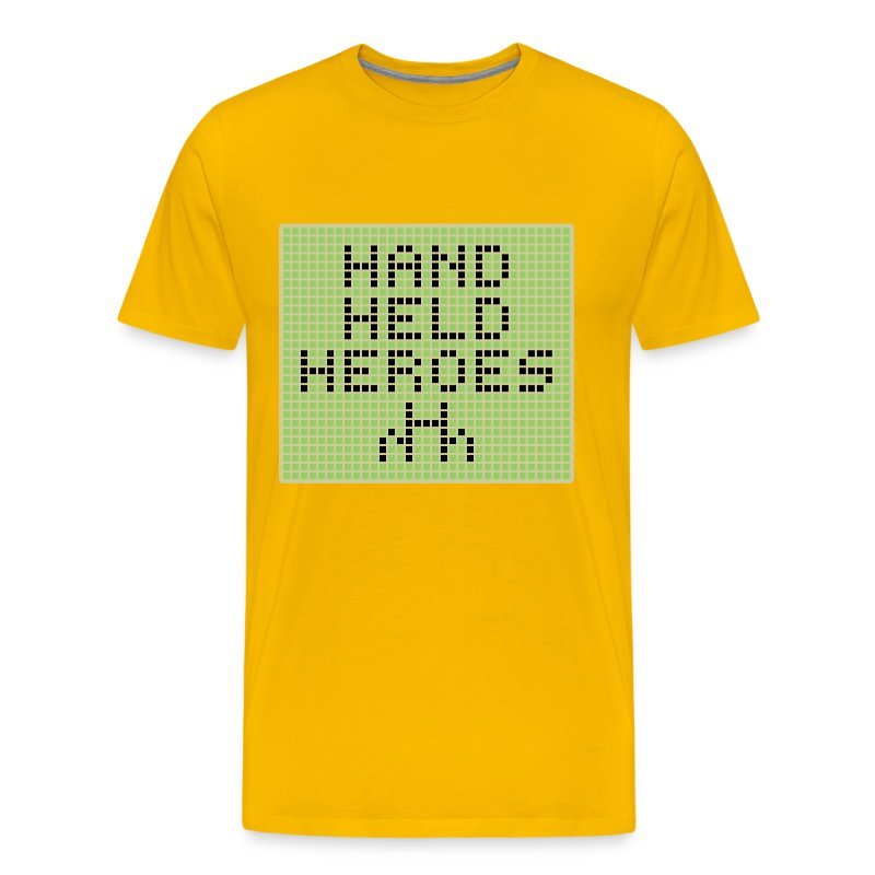 Starting Up PlayIt Loud! Yellow - Men's Premium T-Shirt