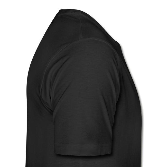 One sided basic black logo shirt