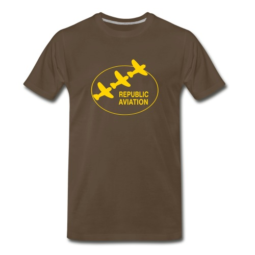 Republic Aviation - Men's Premium T-Shirt