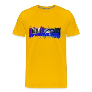 an EYE4LENS - Men's Premium T-Shirt